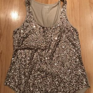 Express sequin tank
